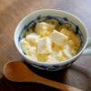 卵とはんぺんのふるふる茶わん蒸し風スープ