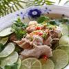 春キャベツの豚しゃぶライムサラダ