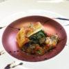 鯖缶と焼き大根で作るシチリア風オーブン焼き
