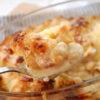 カリフラワーと長ネギのチーズ焼き