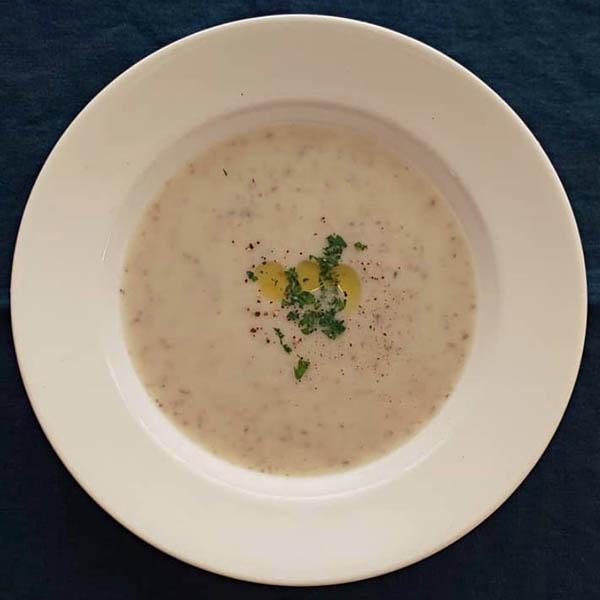 新じゃがと新玉葱のスープ