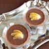 7大アレルゲンフリーのチョコムース