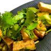 アボガドとパクチーの醤油麹サラダ