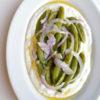 焼き野菜とヨーグルトソースのサラダ