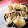 ジャガイモとキノコの温サラダ