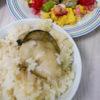 岩牡蠣の炊き込みご飯