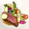 鴨肉と春野菜