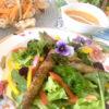 アスパラの肉巻きサラダ