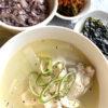 鶏肉のスープ煮込みタッコムタン