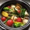 旬野菜の簡単ヘルシーアヒージョ