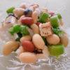 お豆のサラダ、春の香り〜新玉ねぎバージョン