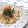 真鯛のサラダ仕立て