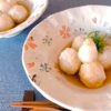 サトイモと豆腐の揚げ出し