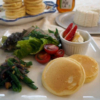 手作りフレッシュチーズとふんわりホエイパンケーキ