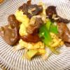 卵とキクラゲの炒め物