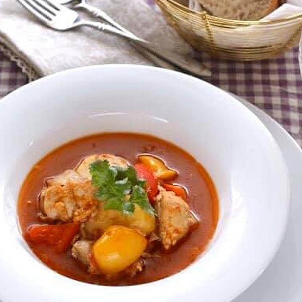 モロッコ風具沢山スープ