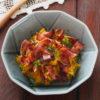 カリカリベーコンとかぼちゃのサラダ