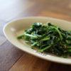 菜の花の塩麹ナムル