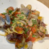 ホタルイカとアサリとミニトマトのスパゲッティ