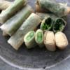 春野菜の白春巻き