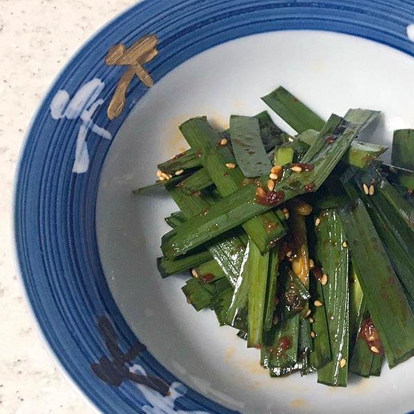 ニラの醤油キムチ