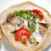旬の魚介と塩麹のカルトッチョ