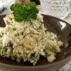 ツナとパセリ、オリーブのおからサラダ