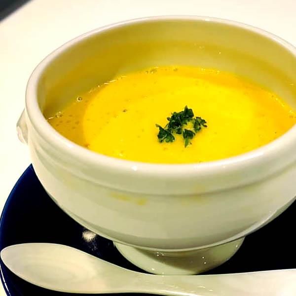 人参とお米のポタージュスープ