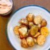 のり塩フライドポテト&塩辛マヨソース