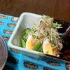 アスパラとゆで卵の味噌バンバンジー