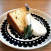 ラベンダーのシフォンケーキ