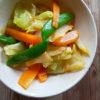 春野菜の梅醤油和え