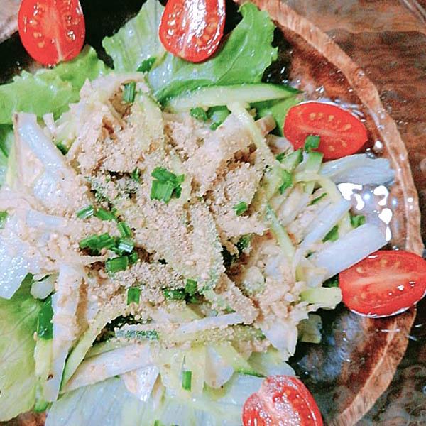 切り干し大根サラダ