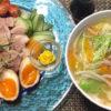 煮豚 煮鶏 スープ
