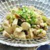 ザーサイと豆腐の簡単和え物