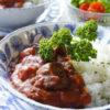 鯖味噌煮缶のトマトカレー
