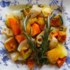 発酵根菜のオーブン焼き