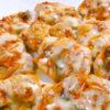鶏ムネ肉のキムチピザ
