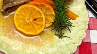 オレンジスペアリブ