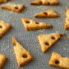 カリッとおつまみにチーズクッキー