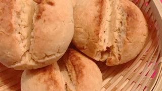 発酵なしのお豆腐米粉パン