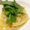 シラスと大葉のスパゲッティ