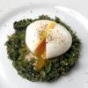ブロッコリーと卵を使ったビスマルク風