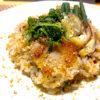 塩漬け豚バラ肉と柴漬けの焼き飯