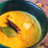 エビと山芋のクリーミータイカレー
