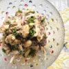 鯖缶と豆のサラダ