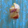 りんごの白ワインコンポートパフェ