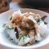 焼き鯖寿司風混ぜご飯