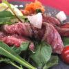 牛肉の柔らかタリアータ