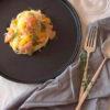 サーモンとオレンジの冷製パスタ